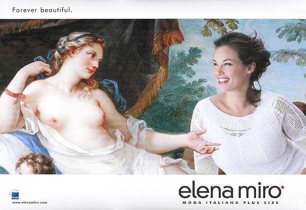 Barbara Brickner modelling for Elena Miro, Spring 2003