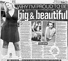 Two-page article in the British newspaper ''The Daily Mirror'' (Wednesday, August 3rd, 2005)
