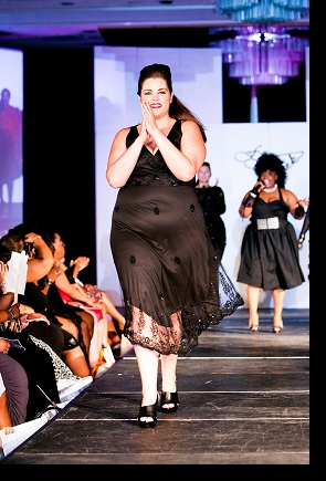 Final model walk during the runway finale of FFFWeek 2010; photograph by Richard Lew; click to enlarge