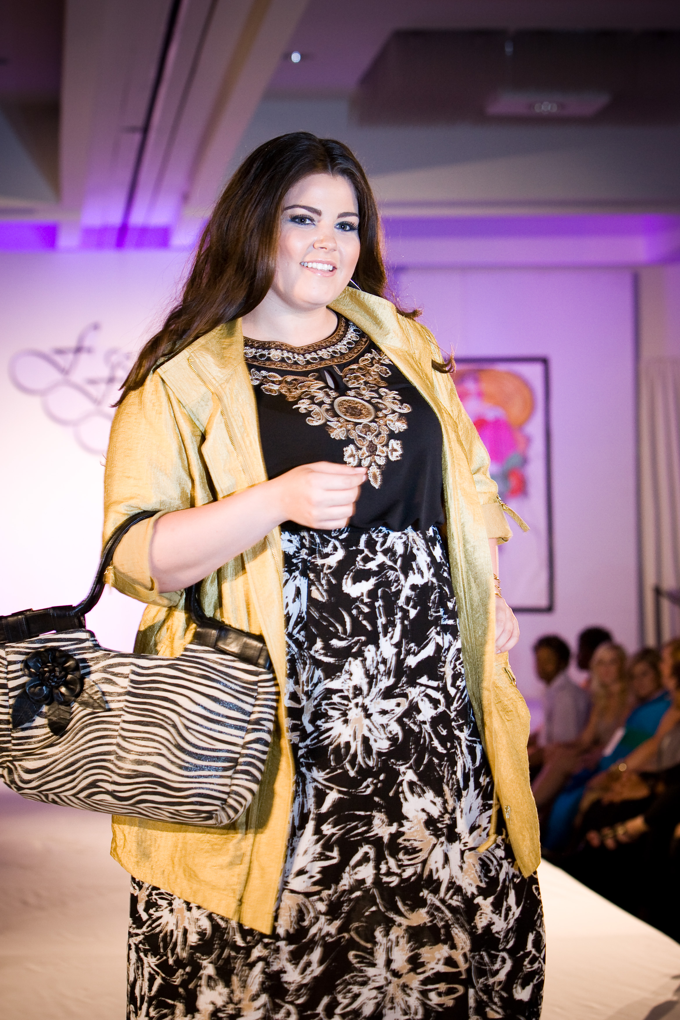 The complete Sonsi collection from Full-Figured Fashion Week