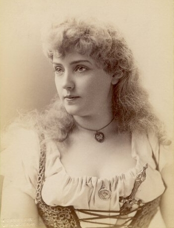 Lillian Russell--image courtesy of Mr. David Stone