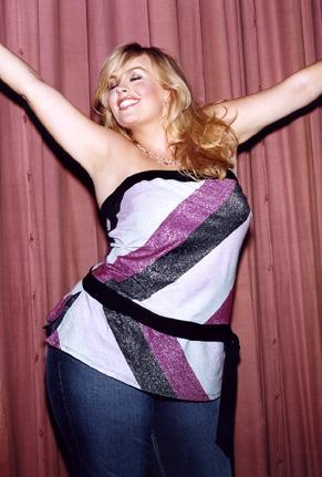 Charlotte Coyle modelling for Torrid