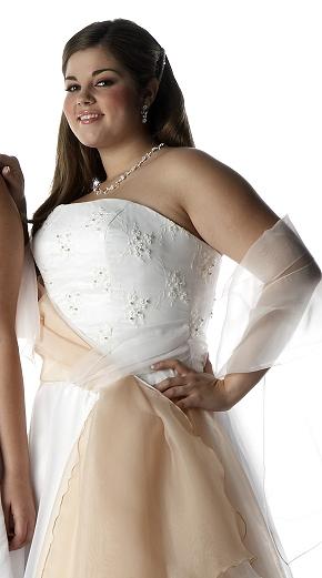 Lindsey Garbelman modelling for Aurora Formals, Spring 2006