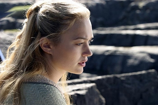 Sophia Myles, in a still image from the film ''Tristan & Isolde''; courtesy sophiamyles.org