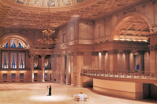 Ballroom of the Regent Hotel, Wall Street