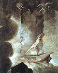 Henry Fuseli, 'Odysseus between Scylla and Charybdis'