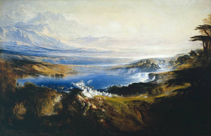 John Martin, ''The Plains of Heaven'' -- click to view image source