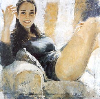 Giovanni Spazzini, 'Girl'