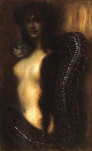 Franz von Stuck, 'Sin' (1893)