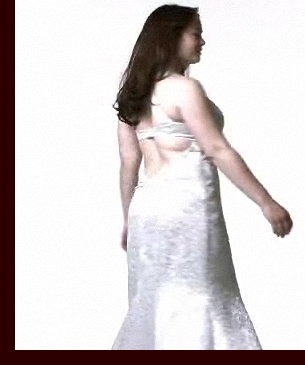 Screen capture from one of Kailee's videos for David's Prom 2008