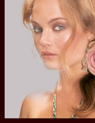 Modelling for Anna Scholz, Spring/Summer 2009