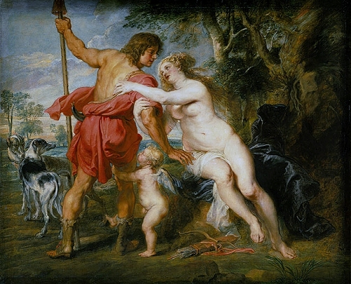 Rubens, ''Venus and Adonis'' (c.1635)
