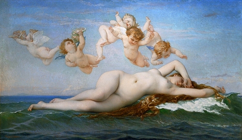 Cabanel, ''The Birth of Venus'' (1863)