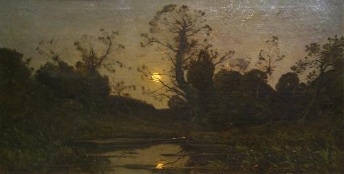 Harpignies, ''Moonrise'' (1885)