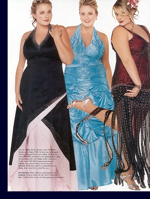 Editorial layout in ''Teen Prom'' magazine, 2007 issue