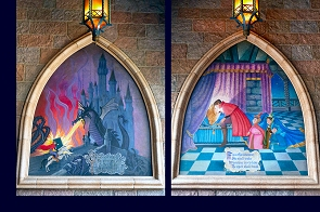 Murals of Disney's''Sleeping Beauty''