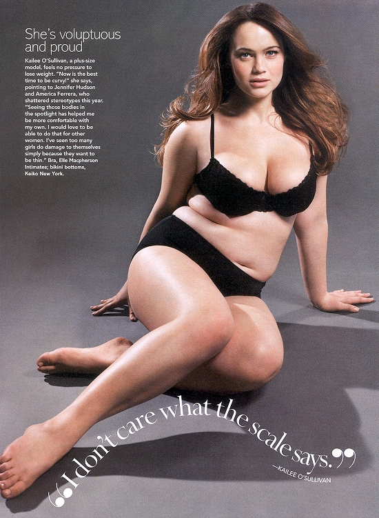 The Judgment of Paris Forum - Glamour article re: plus-size models