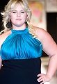 Walking the runway at Full-Figured Fashion Week, 2009. Photo by Richard Lew