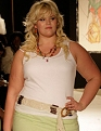 Walking the runway at Full-Figured Fashion Week, 2009. Photo by Universal Concepts Photography.