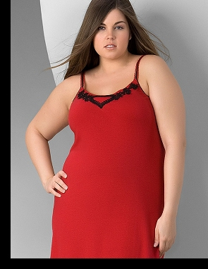 Modelling for Lane Bryant; click to enlarge