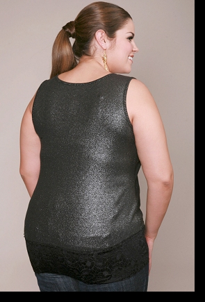Modelling for Torrid; photograph by Michael Anthony Hermogeno; click to enlarge