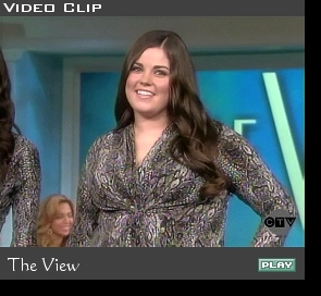Lindsey on 'The View'; click to play
