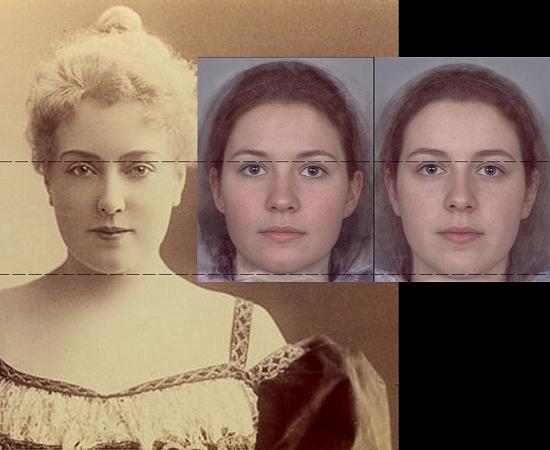 Beautiful Feminine Faces Ideal of Feminine Beauty