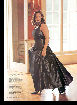 Barbara Brickner in ''A Brand New Ball'' editorial; November 1999 issue