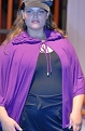 On the runway at ''Fashion Weekend Plus Size,'' February 2010