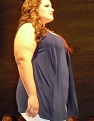 On the runway at ''Fashion Weekend Plus Size,'' July 2010
