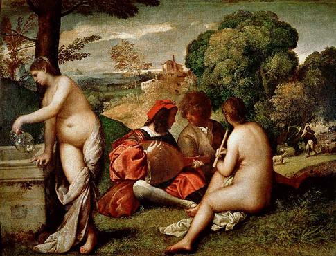 Giorgione, ''Pastoral Concert,'' c.1508