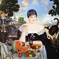 Merchant Wife at Tea