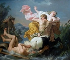 The Rape of Dejaneira by the Centaur Nessus