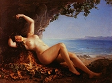 Bacchante with Grapes