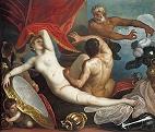 Venus and Mars Surprised by Vulcan