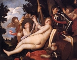 Venus, Mars, and Two Cupids