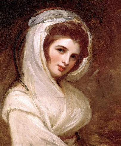 Romney, ''Emma, Lady Hamilton,'' 1782-86