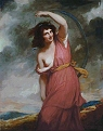 Portrait of Emma Hart as a Dancing Bacchante