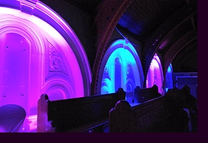 The Tabernacle, in Notting Hill, London - interior