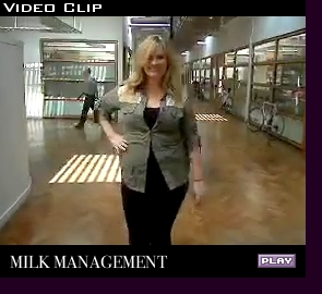 Promotional video for Milk Management, London; click to play