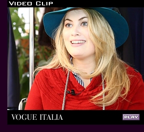 ''Vogue Italia'' (Italian Vogue) video, July 2011; click to play