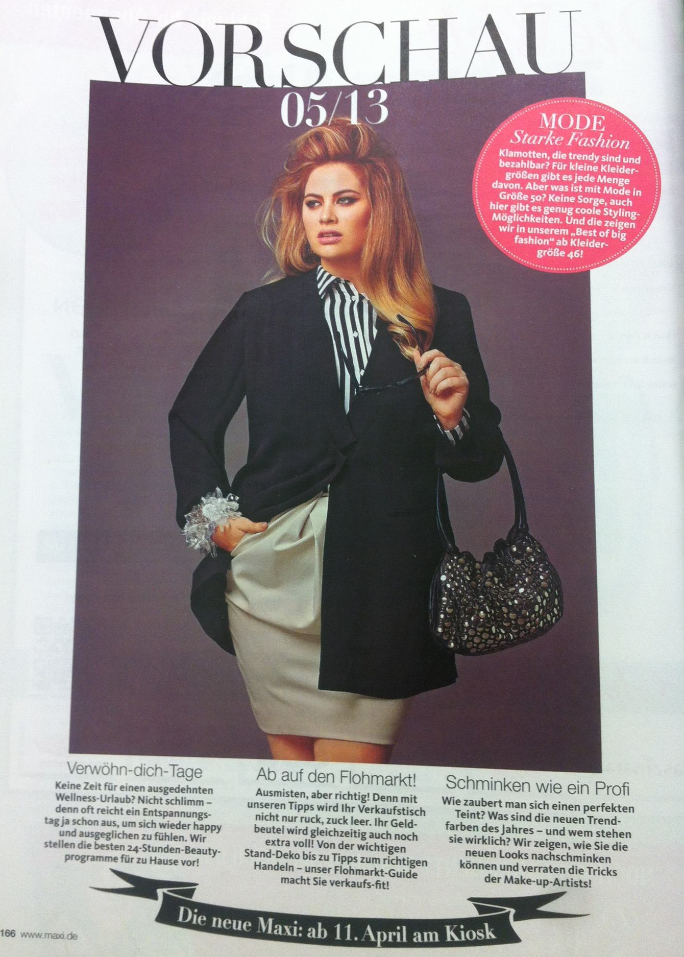 The Judgment of Paris Forum - Sophie Sheppard in Maxi magazine