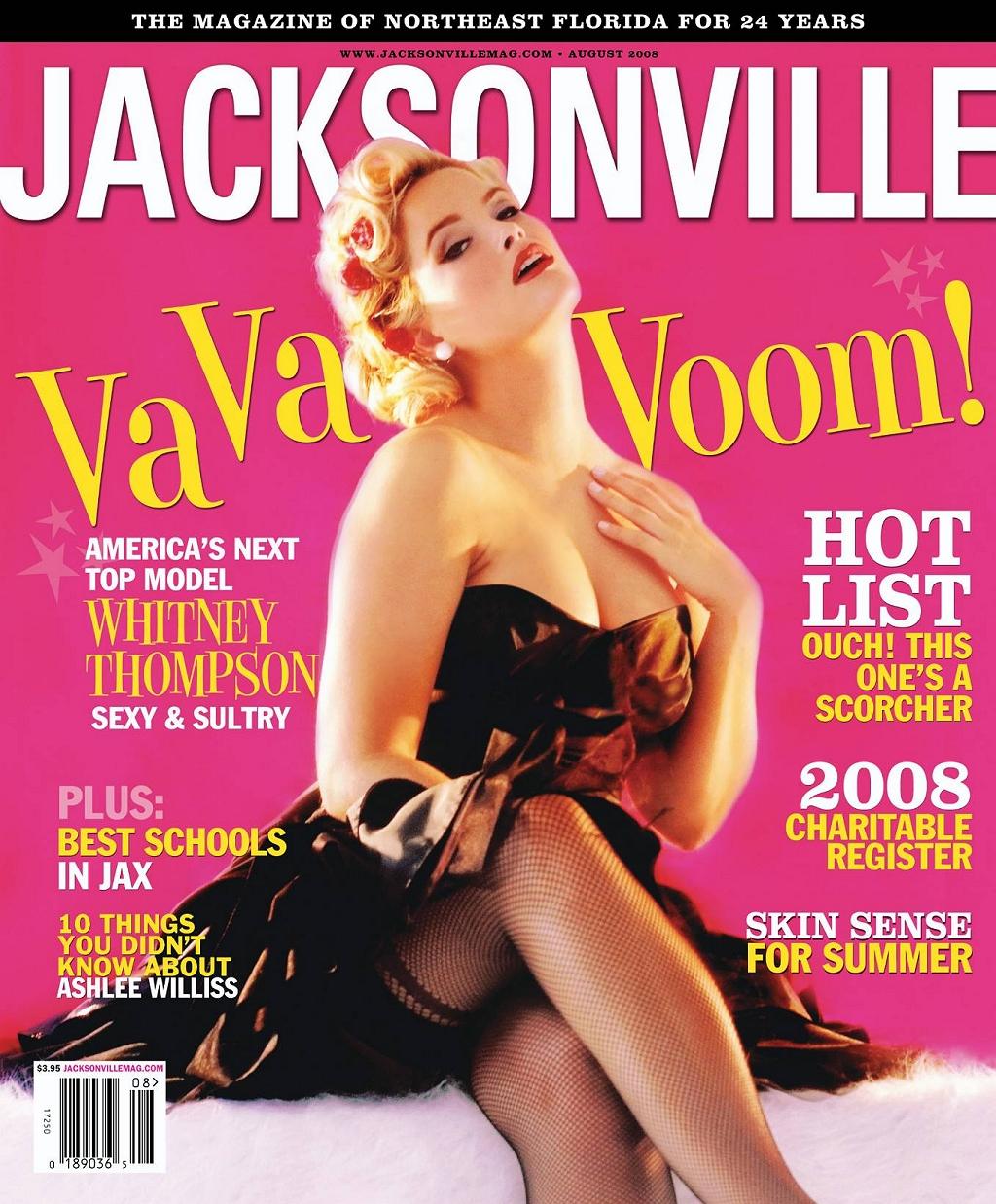 Whitney Thompson: America's Next Top Model August 2008 Issue Jacksonville Magazine Jacksonville Magazine