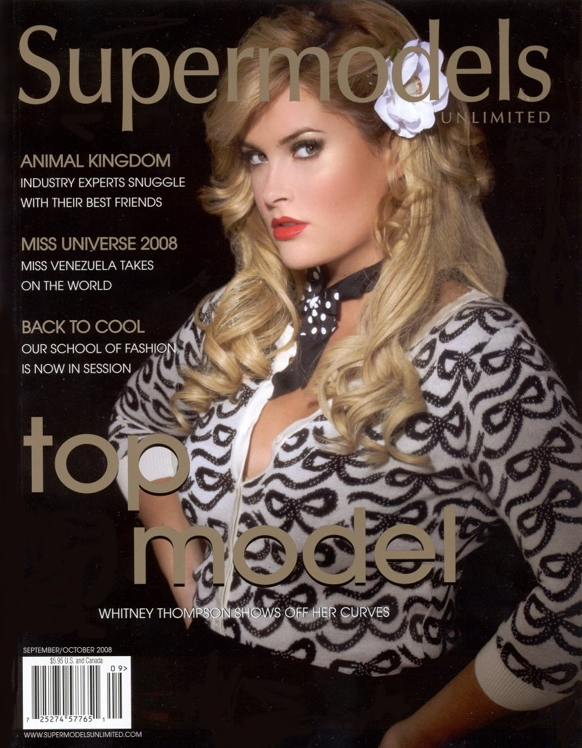 On the cover of ''Supermodels